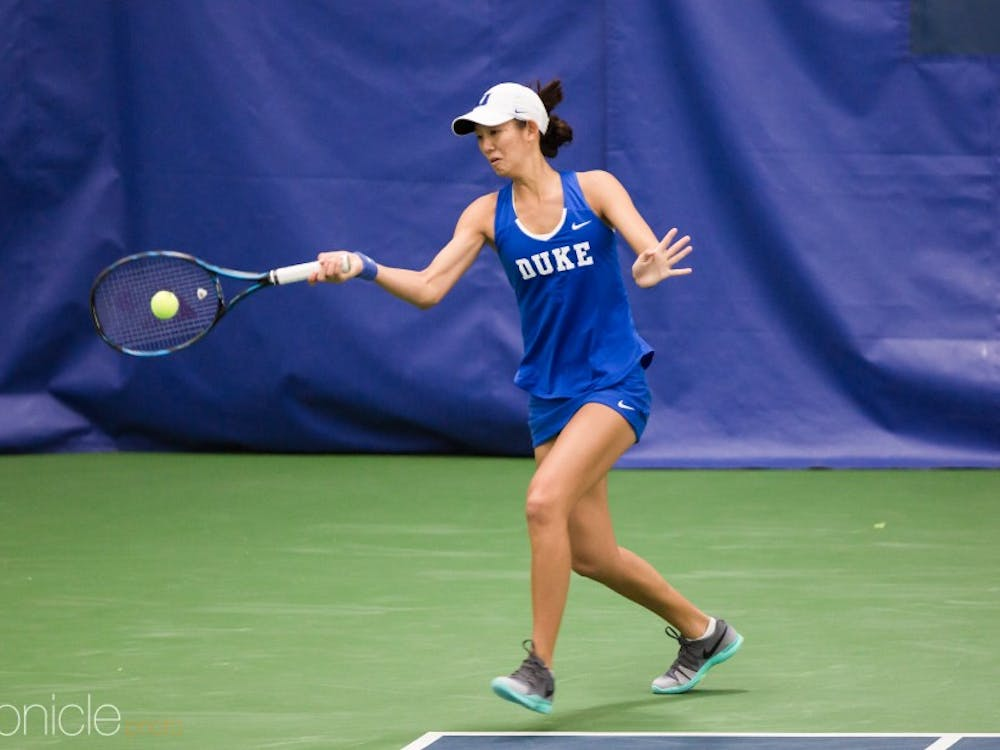The Blue Devils' victory against N.C. State last year jumpstarted a 13-match winning streak.
