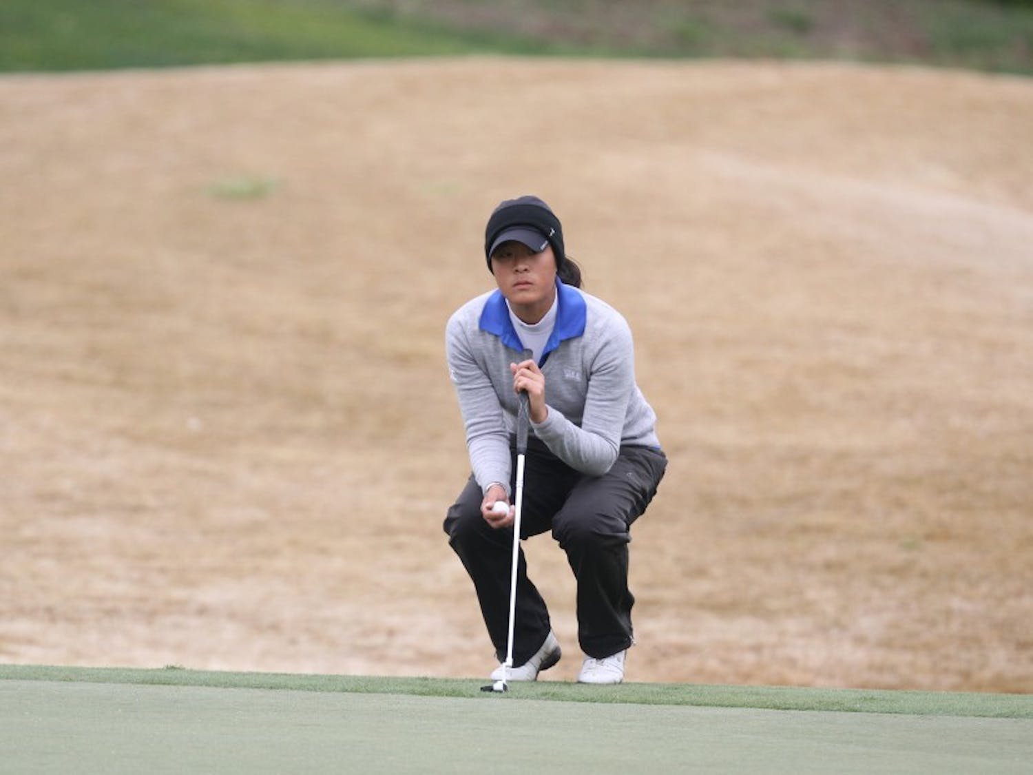 Junior Celine Boutier and the Blue Devils will look to claim their third victory of the season this weekend at the Liz Murphey Collegiate.