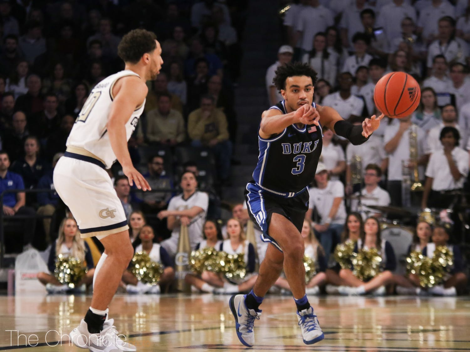 Tre Jones has 14 assists and just one turnover over his last two games