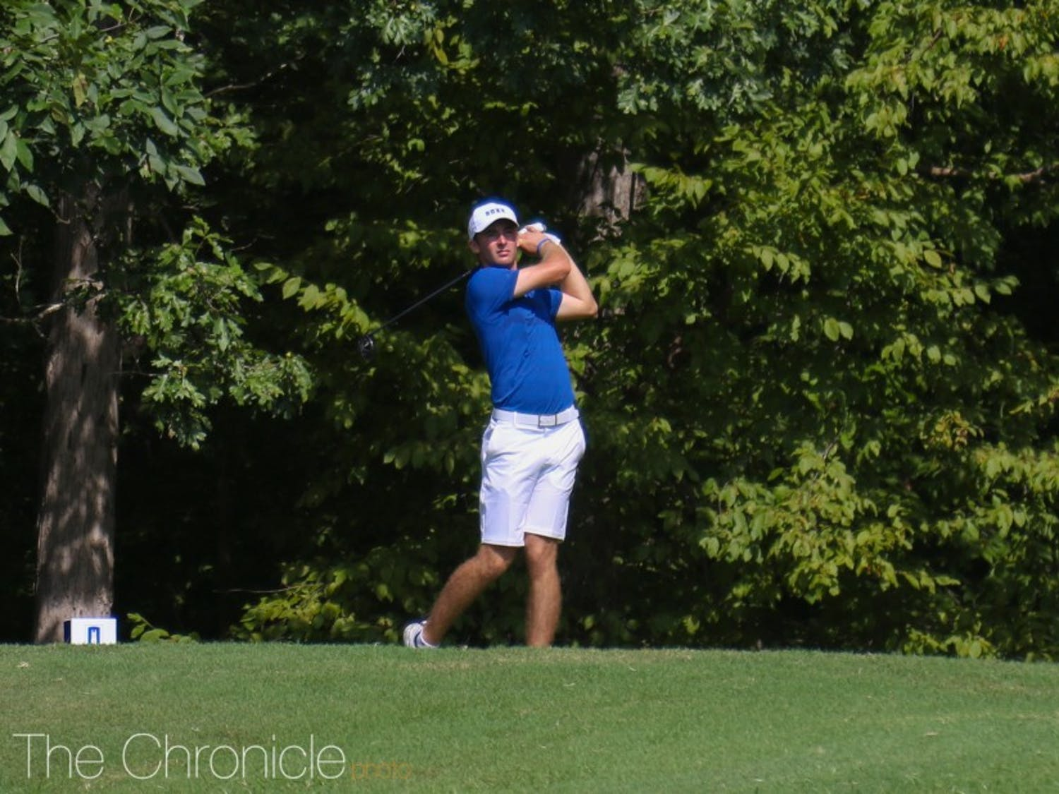 Chandler Eaton shined in the ACC championships.