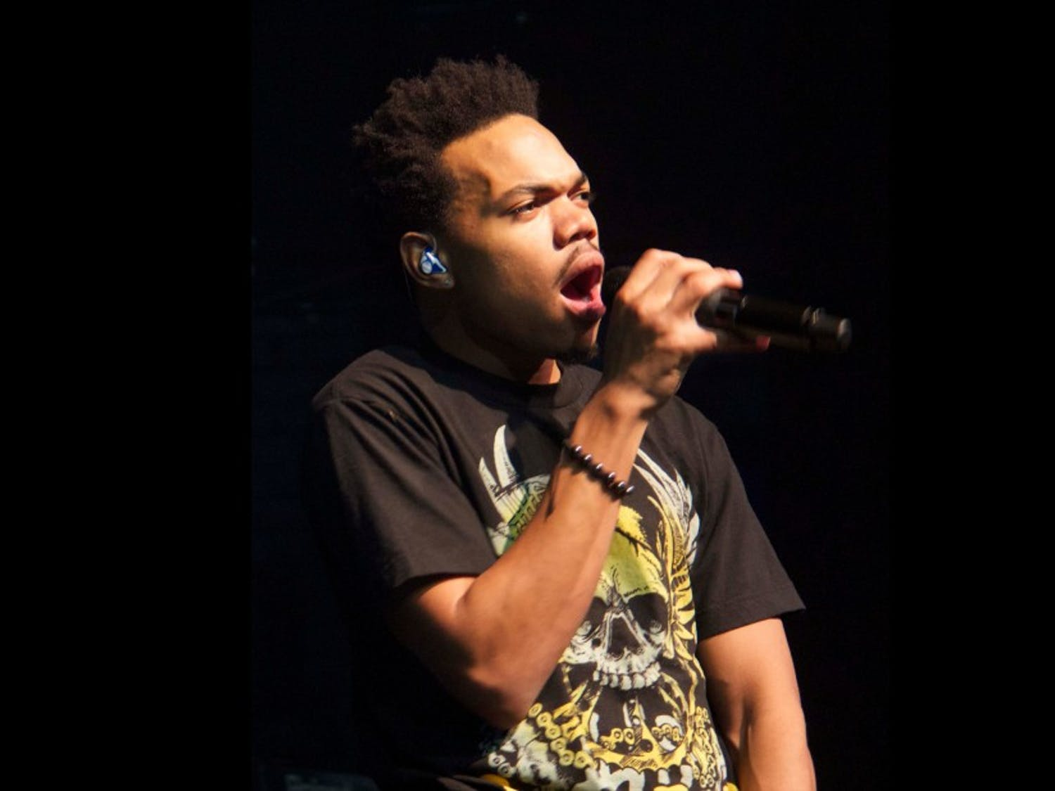 Chance the Rapper performed in Raleigh, N.C. as a part of his latest Magnificent Coloring Tour.