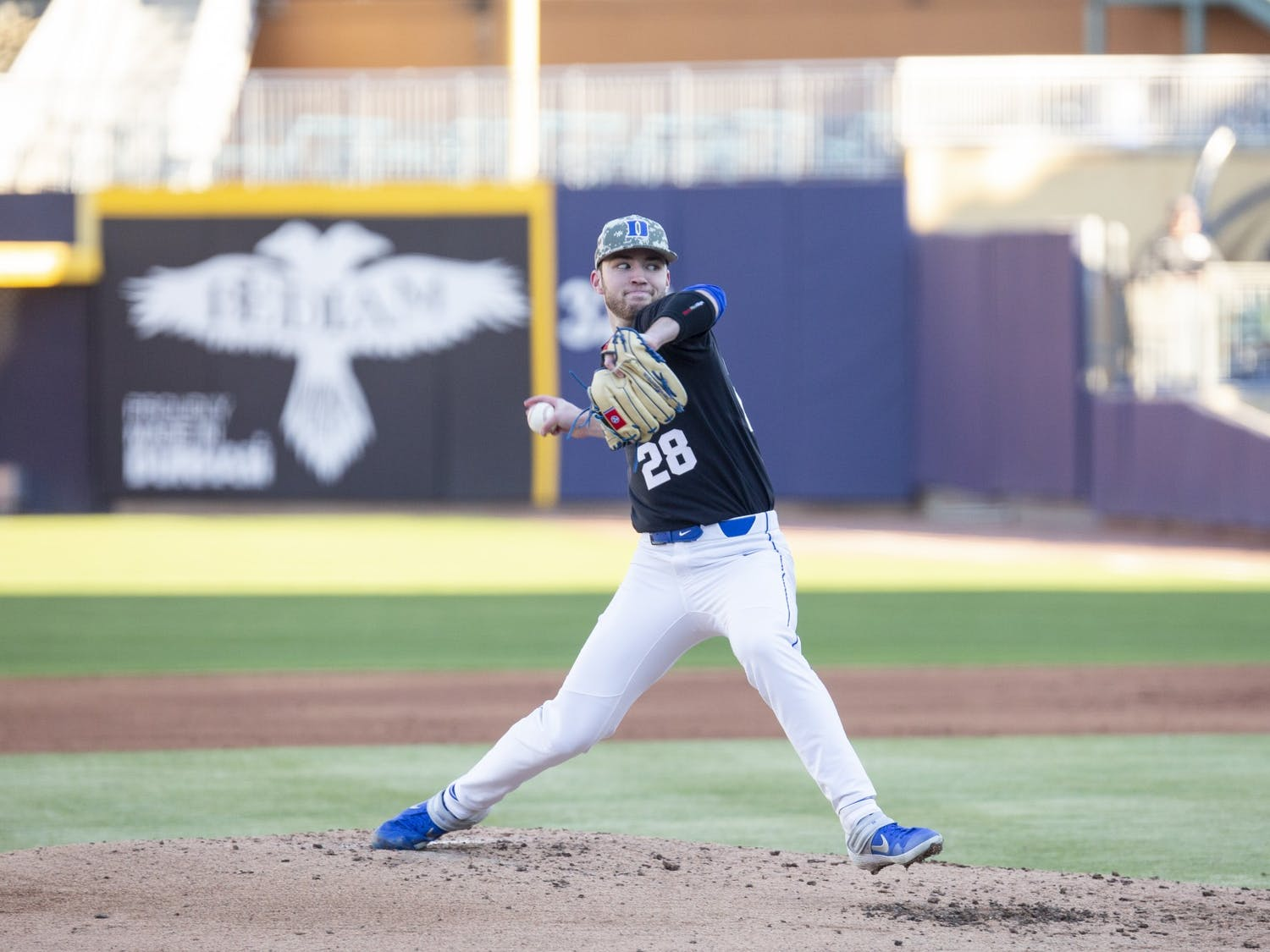 Bryce Jarvis' seven innings of one-hit ball powered Duke to victory Friday.