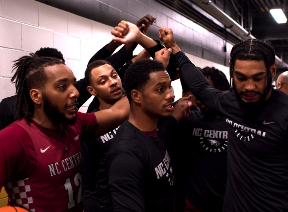 """<p>ESPN+'s new series """"Why Not Us"""" to intimately chronicle the journey of the North Carolina Central University's men's basketball team in their pursuit of a spot in the NCAA tournament.</p>"""