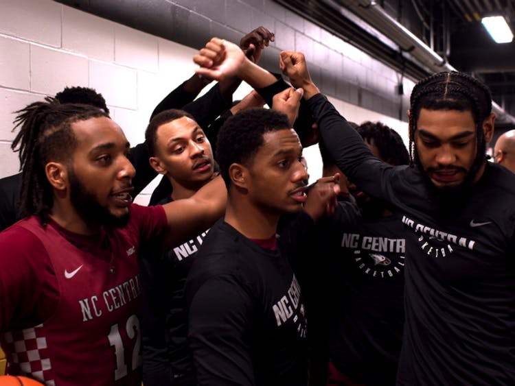 "ESPN+'s new series ""Why Not Us"" to intimately chronicle the journey of the North Carolina Central University's men's basketball team in their pursuit of a spot in the NCAA tournament."