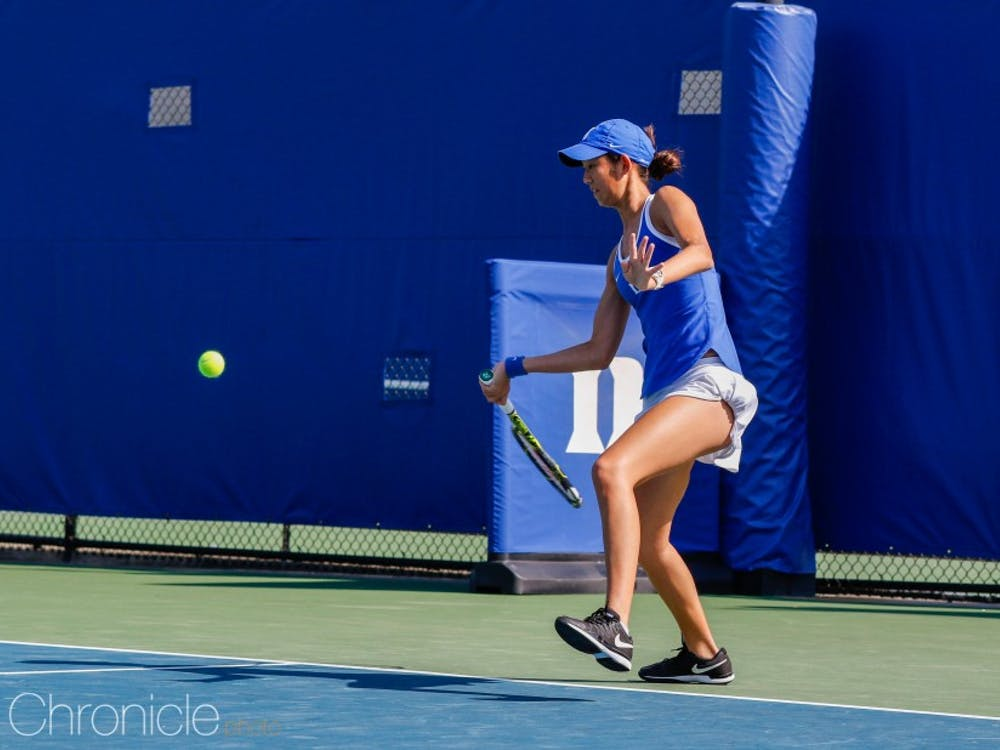 No. 20 Meible Chi will look to punch her ticket to California in the singles draw this week.