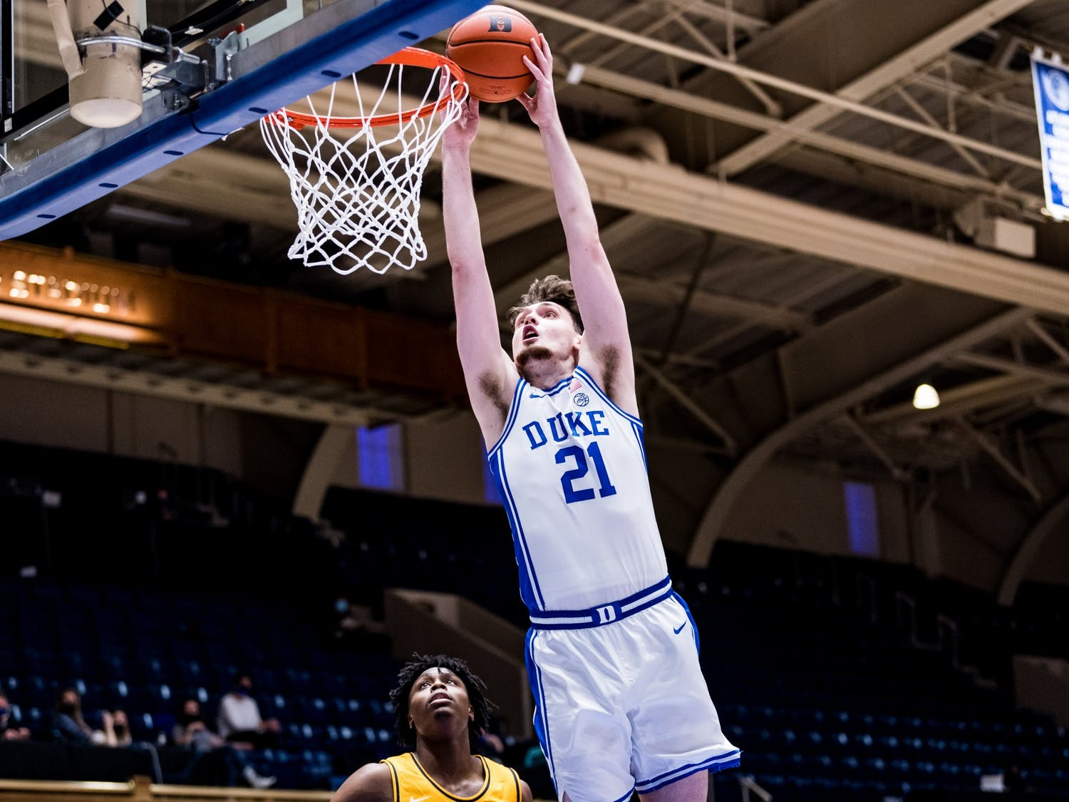 Sophomore Matthew Hurt showed off his versatility in the first half Tuesday.