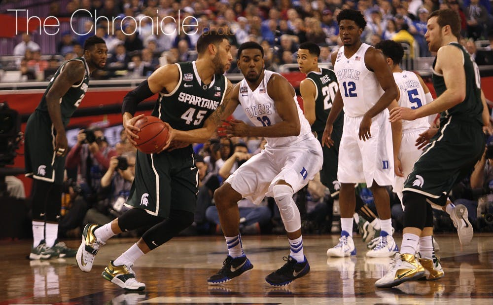 <p>Michigan State senior Denzel Valentine has the Spartans primed for another run through March Madness and is a National Player of the Year contender.</p>