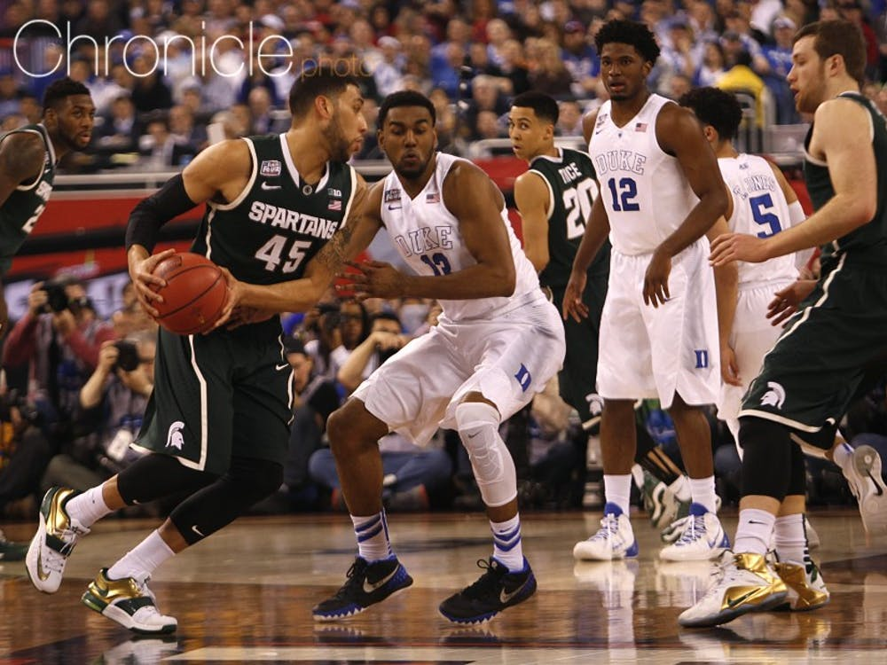 Michigan State senior Denzel Valentine has the Spartans primed for another run through March Madness and is a National Player of the Year contender.