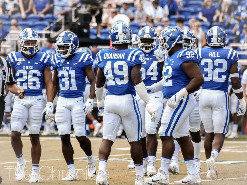 <p>The Blue Devils rank No. 40 nationally in total defense.</p>
