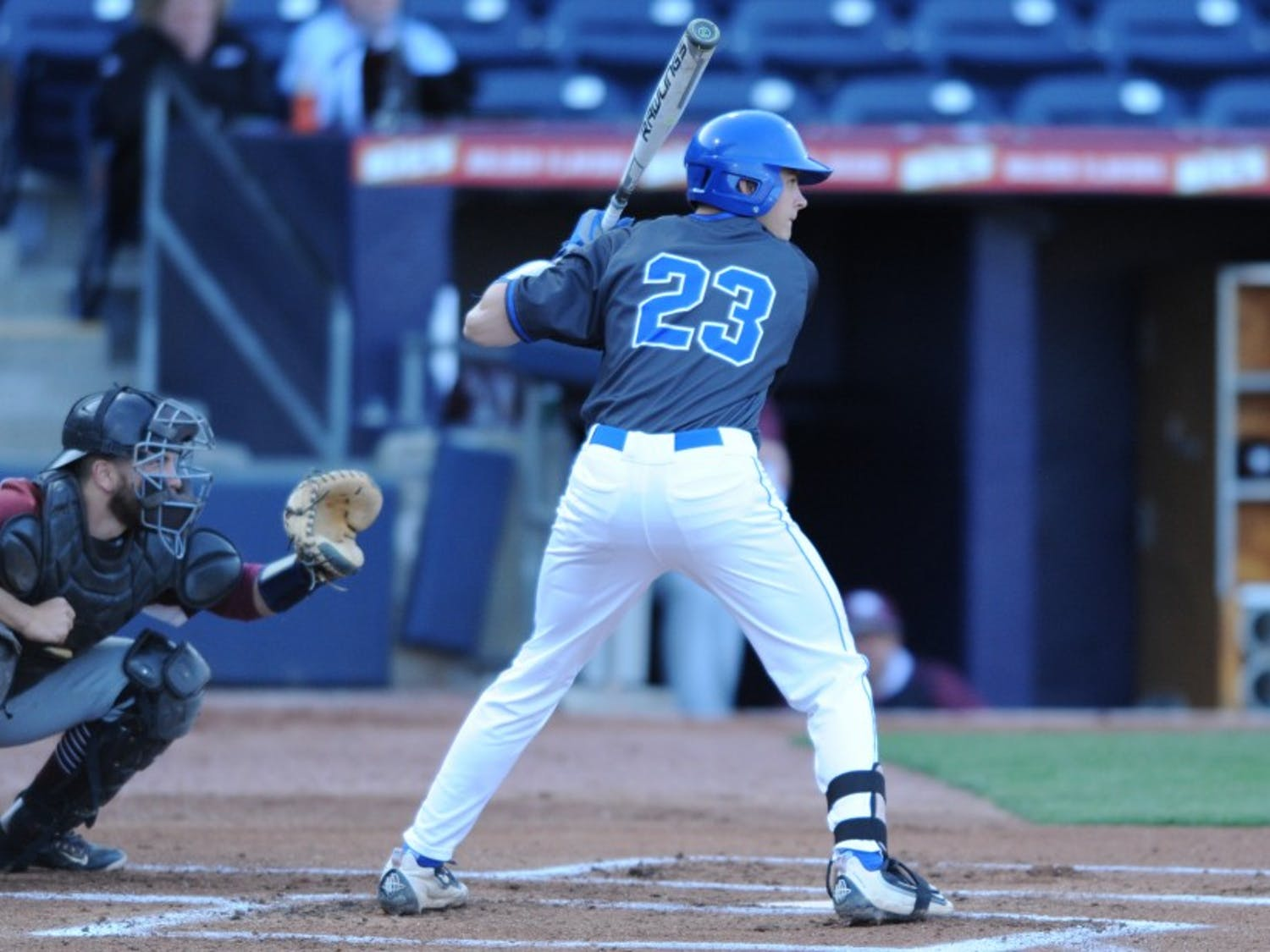Freshman Chris Proctor went 2-for-3 at the plate and drove in two runs against N.C. Central as Duke picked up its third consecutive victory.