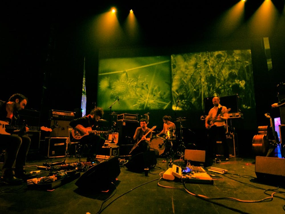Experimental rock group Godspeed You! Black Emperor, pictured in 2011, released their sixth album last Friday.