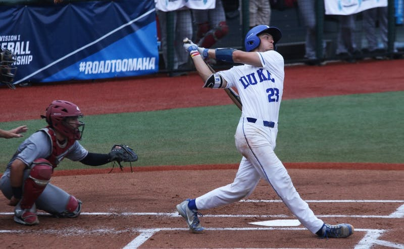 Chris Proctor hit two RBI singles during Duke's offensive deluge in the final three innings.