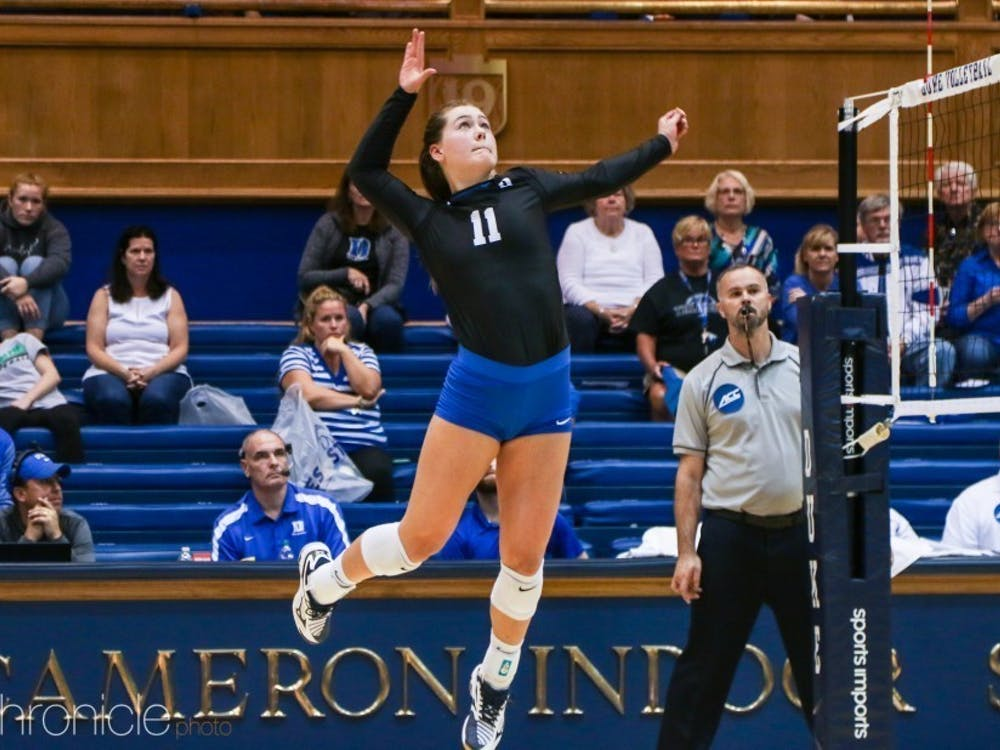 Senior Payton Schwantz has been one of the main drivers of Duke's comeback season.