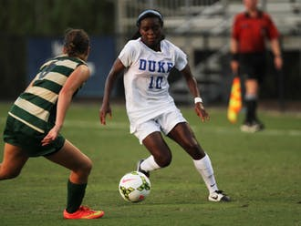 Junior Toni Payne scored seven goals and added five assists last year and is Duke's top returning offensive threat.