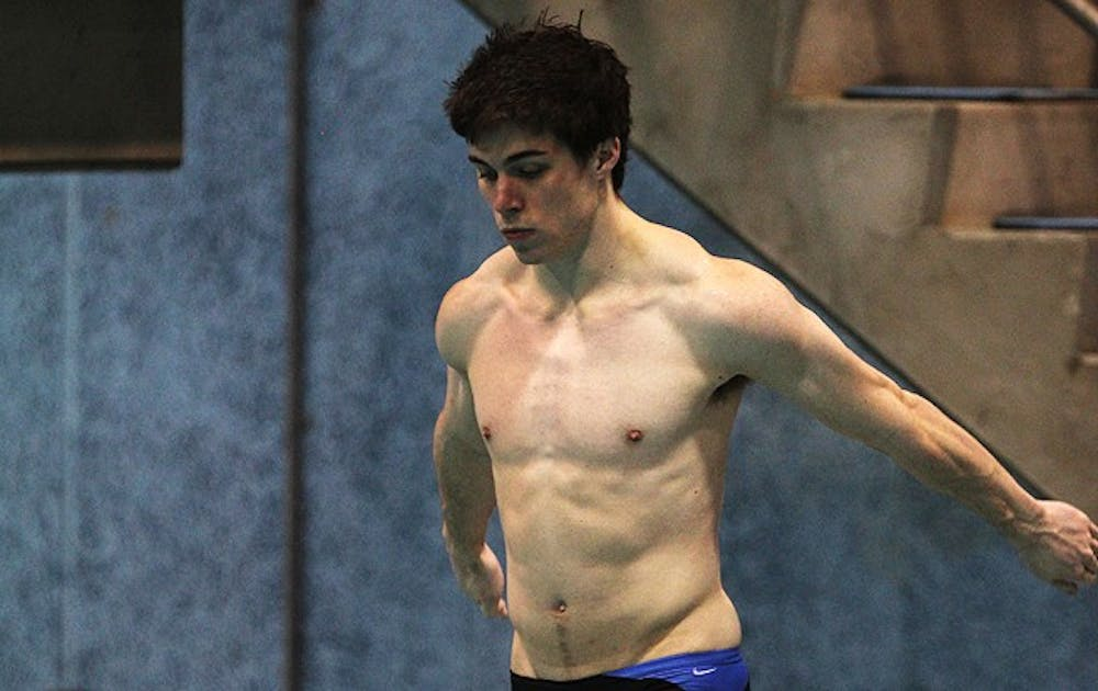 Senior Jordan Long will compete in the 1- and 3-meter board events during the NCAA Championships.