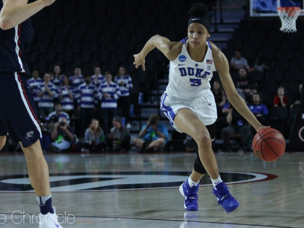 Leaonna Odom led Duke in scoring in all three of its NCAA tournament games.