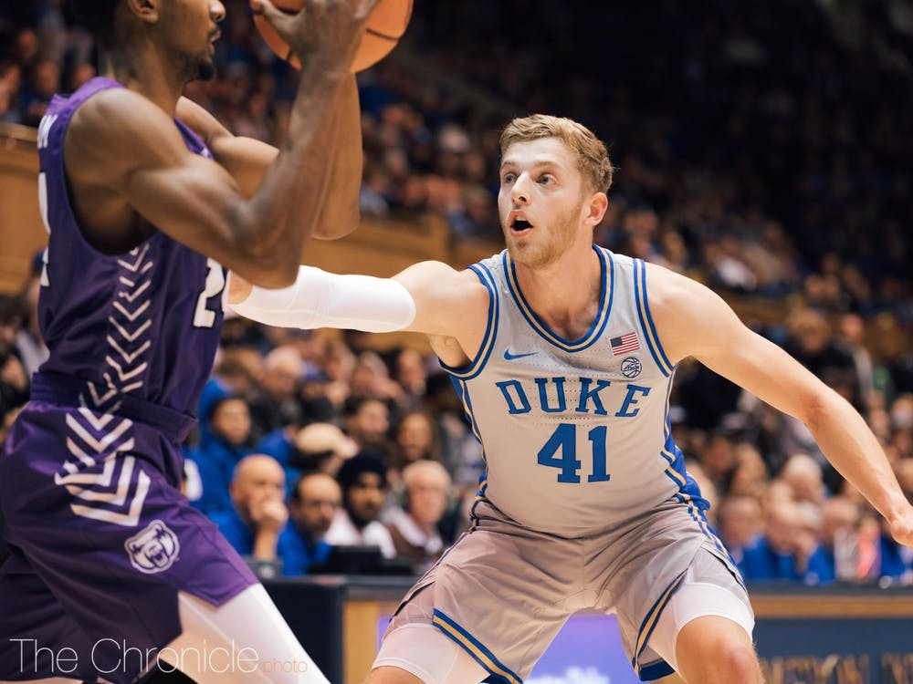 Senior captain Jack White took a starting spot from freshman Matthew Hurt Tuesday, but his minutes could be diminished against Georgia State.