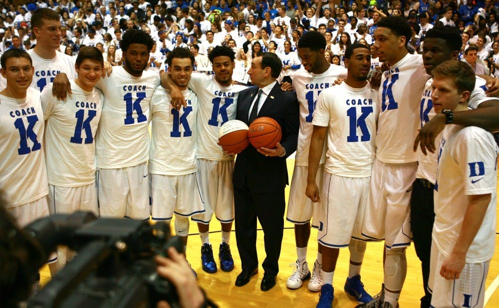 After the announcement of Coach K's retirement after this upcoming season, the sports world was quick to voice its praise over the legendary head coach's career.
