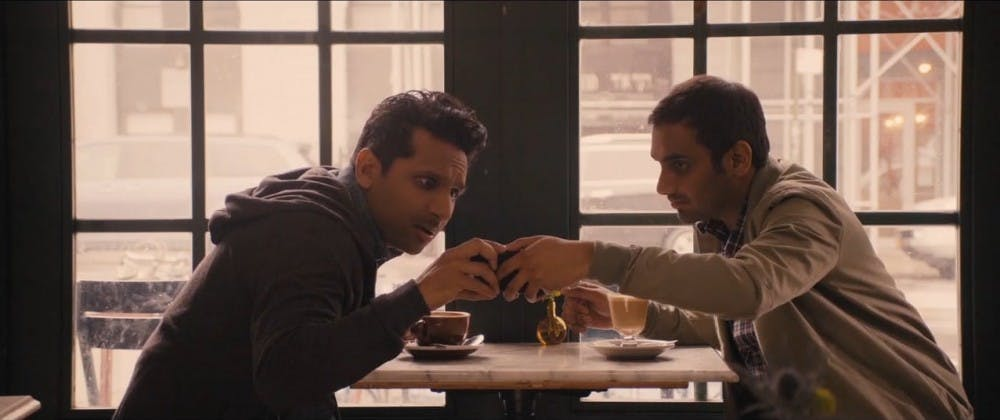 """<p>As Dev (right), Aziz Ansari brings out the subtle humor of everyday life in Season 2 of Netflix's&nbsp;""""Master of None.""""</p>"""