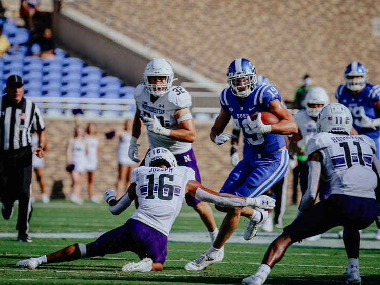 Senior Jake Bobo had over 100 receiving yards for the first time in his career against Northwestern.