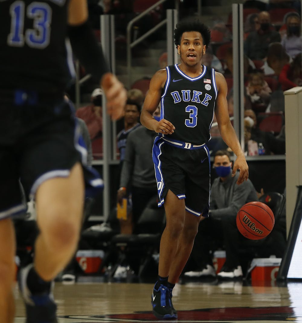 The Blue Devils will need Jeremy Roach to bounce back from a scoreless outing against Louisville Saturday.
