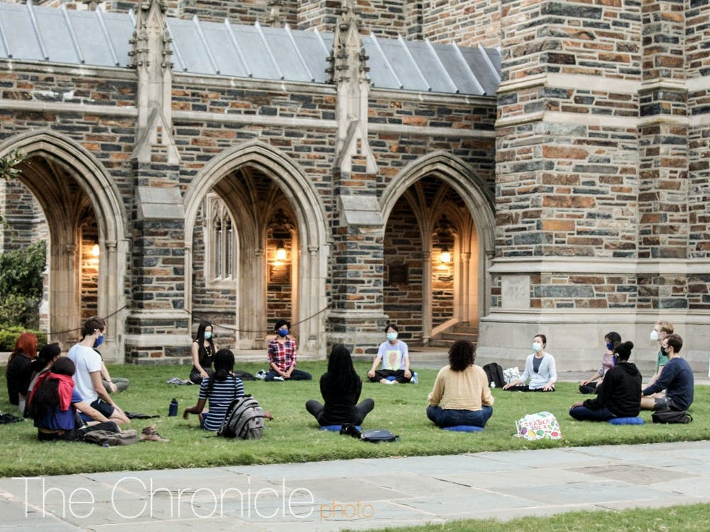 <p>Student group leaders have been finding ways to allow everyone to participate safely in in-person events after Duke released new COVID-19 guidelines in late August.</p>