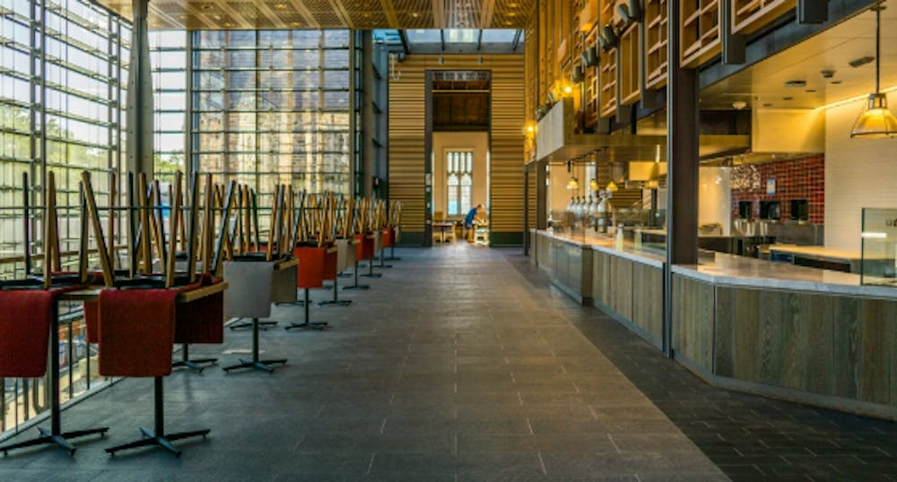 <p>The $95 million construction project expanded dining options for students, with 12 new eateries operated by nine vendors.</p>