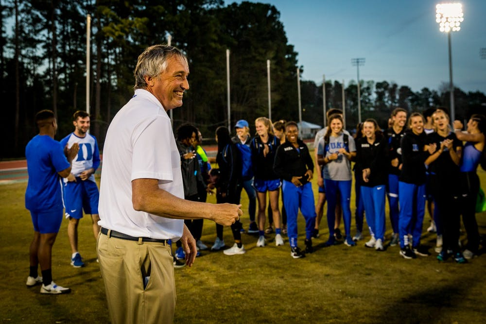 <p>Ogilvie had served as the director of Duke's track and field program since 2003.</p>