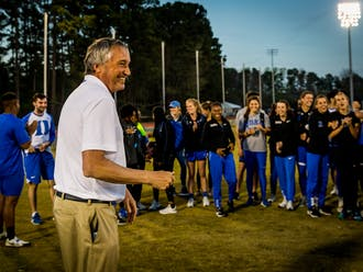 Ogilvie had served as the director of Duke's track and field program since 2003.