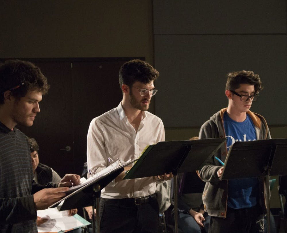 """<p>""""The Aeneid,"""" opening at Duke this Thursday, runs for two weeks in Reynolds Industries Theater</p>"""