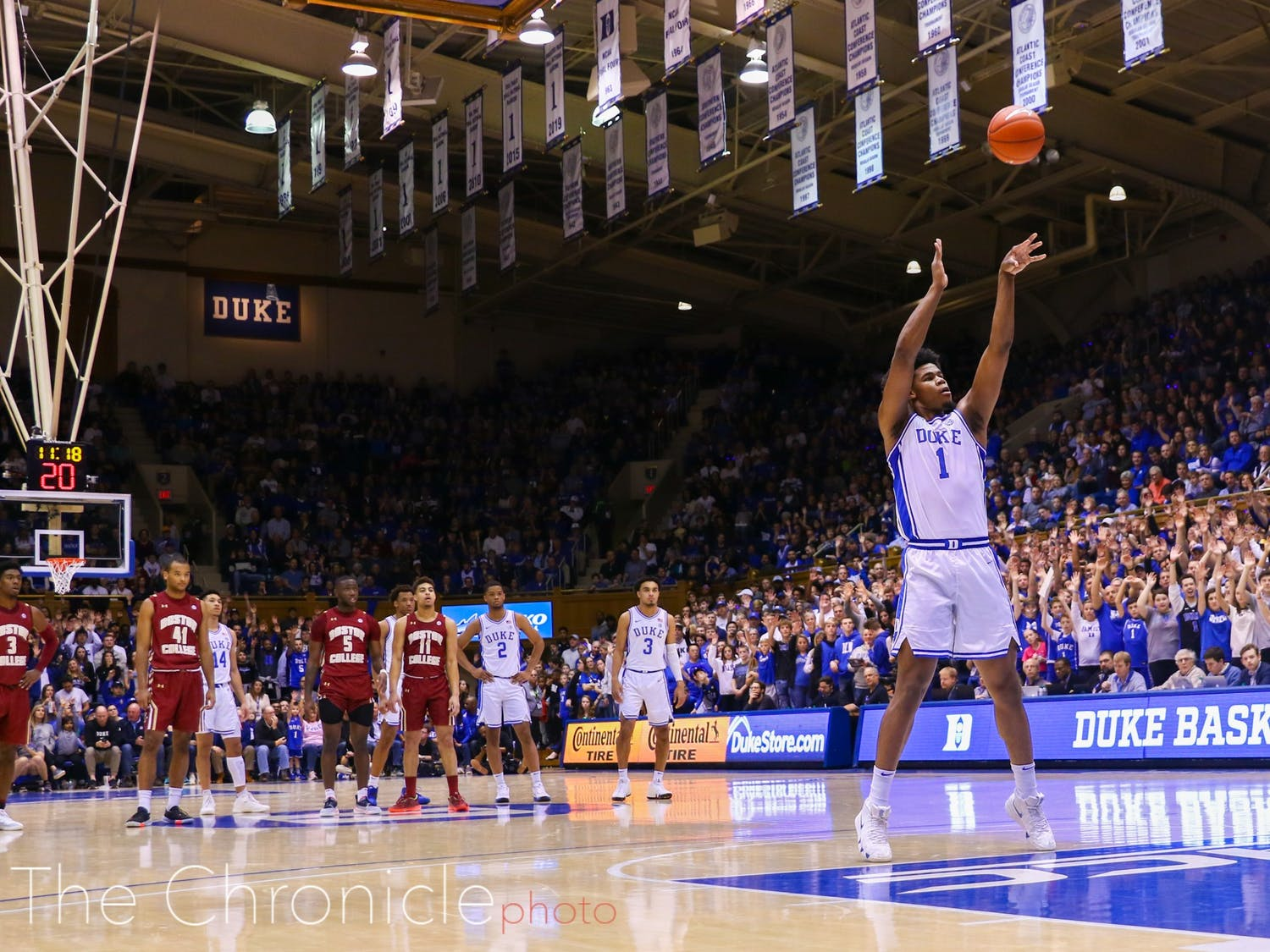 Vernon Carey Jr. has improved his free-throw shooting, but can has room to grow.
