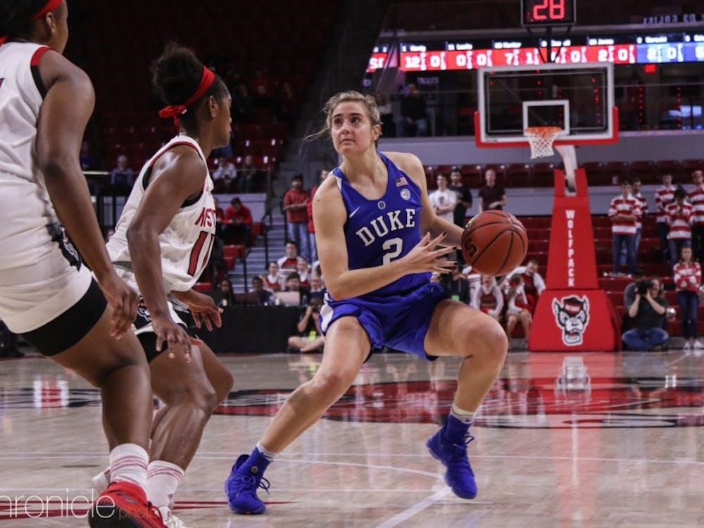 Haley Gorecki has improved her efficiency in the last few games.