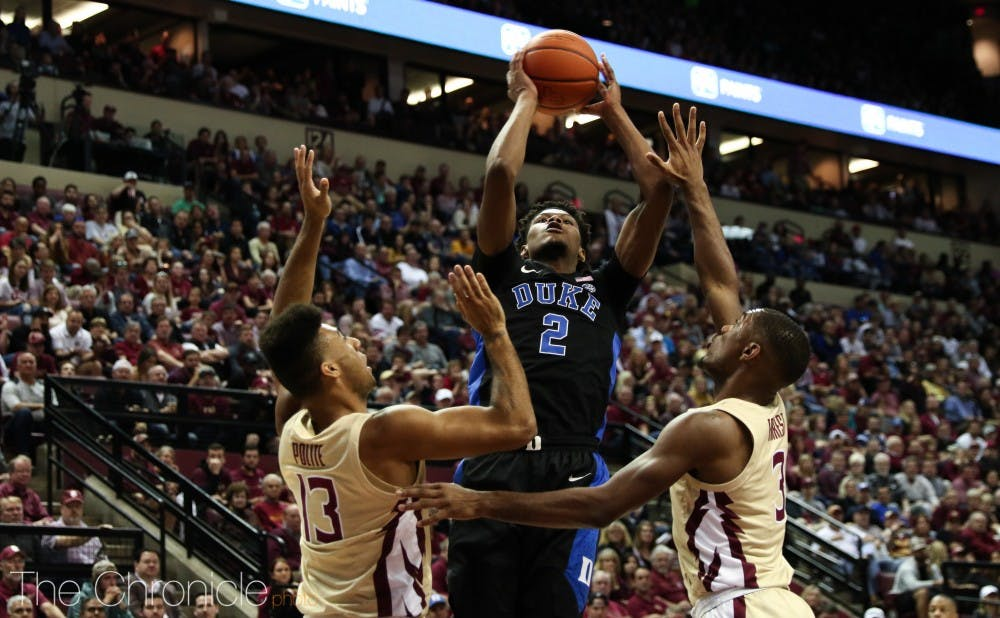 <p>Cam Reddish had his fourth game with at least 20 points this season.</p>