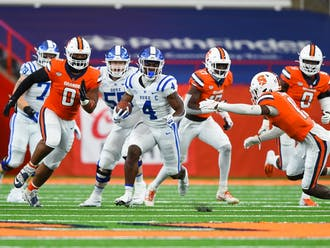 Deon Jackson ran for 169 yards Saturday, and that was less than half of Duke's rushing total.