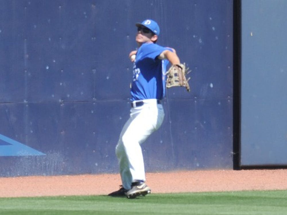 Sophomore outfielder Will Piwnica-Worms was a crucial part in Duke's victory over High Point Wednesday.