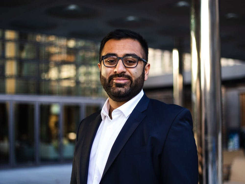 Ibrahim Butt is the co-president of Duke low-income, first-generation engagement.