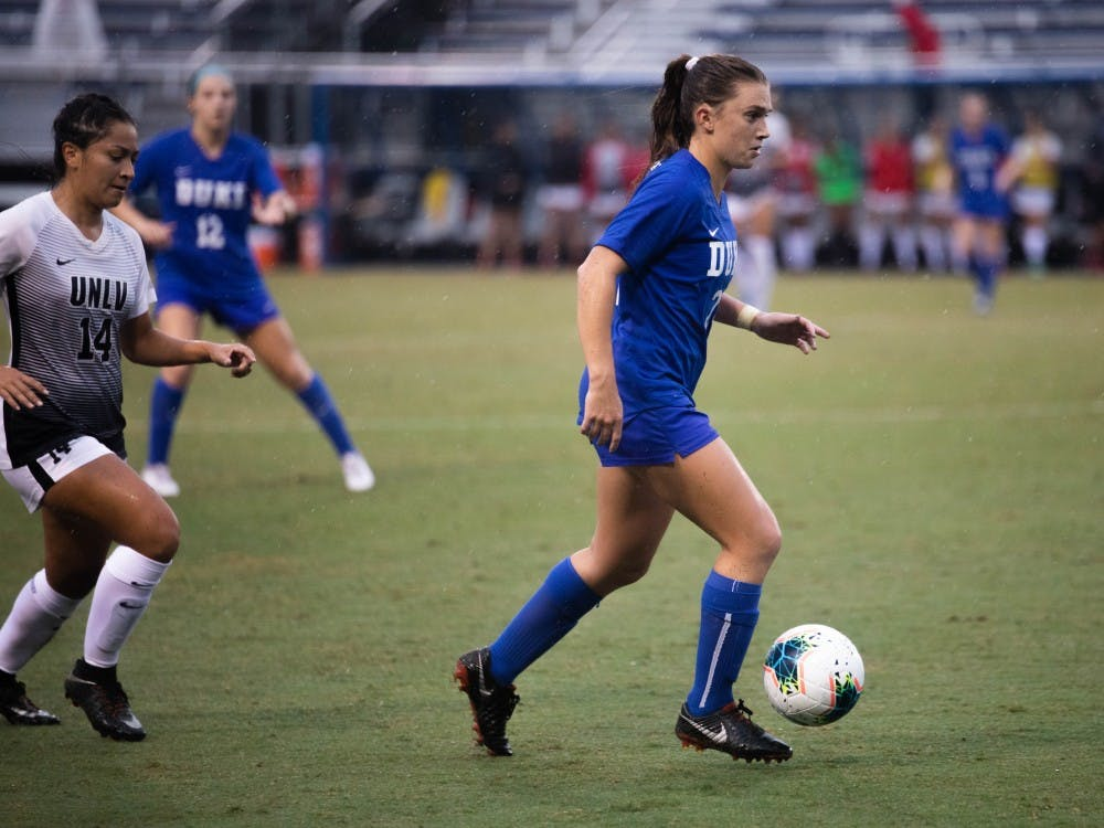 Mackenzie Pluck notched two goals against Clemson.