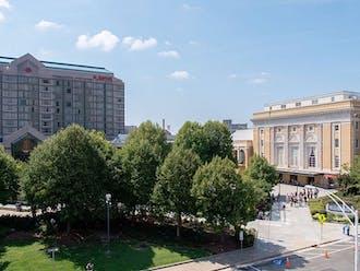 Downtown Durham.