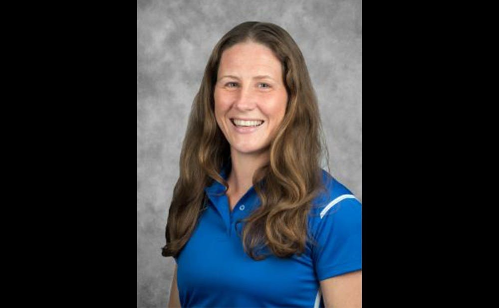 Kim McNally is the director of undergraduate studies in the Department of Health, Wellness and Physical Education and a former track team member at Duke.