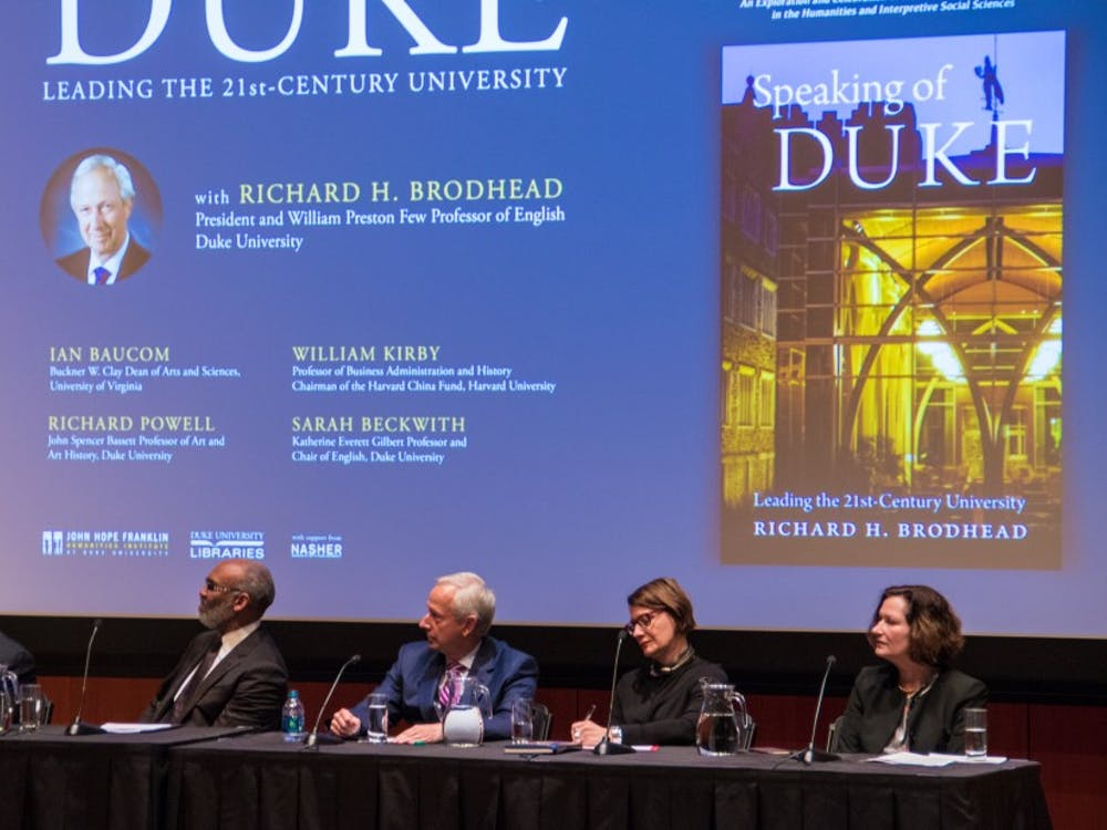 Brodhead's colleagues noted that his book highlights his vision for the University and his dedication to the humanities.