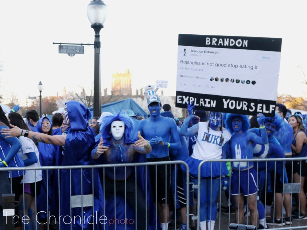 The chaos that ensued during the 2018 walk-up line created a permanent strain between the line monitors and many Duke students.