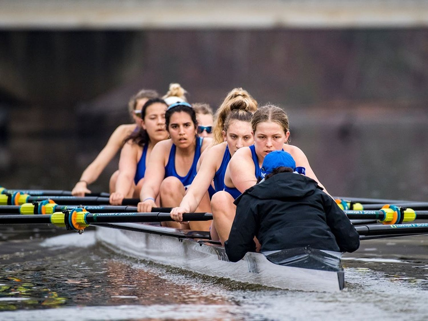Duke's Second Varsity Eight won all three of its races at the Virginia Invite.