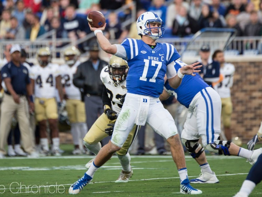 Duke offense will struggle without Daniel Jones behind center.