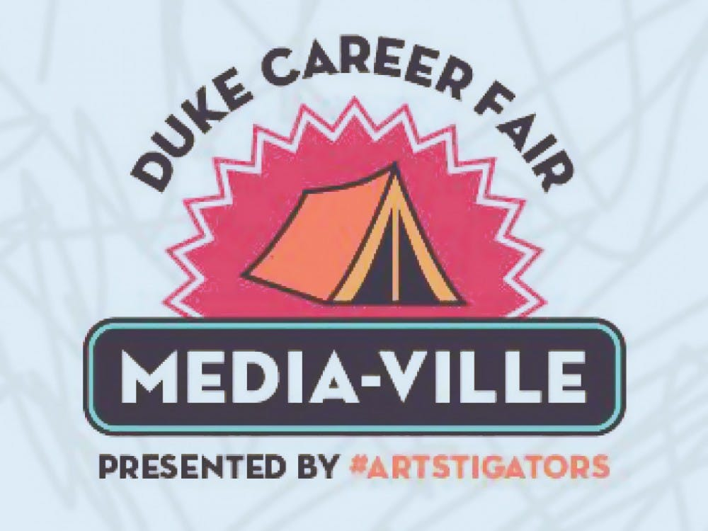 <p>Duke's annual Fall Career Fair, which takes place Sept. 25, will feature Media-Ville, a fast-paced way to survey arts career options.</p>