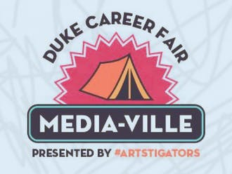 Duke's annual Fall Career Fair, which takes place Sept. 25, will feature Media-Ville, a fast-paced way to survey arts career options.