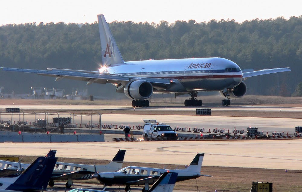 <p>The long-term expansion plan for the Raleigh-Durham International Airport features the creation of a new runway and 23 new terminal gates.</p>