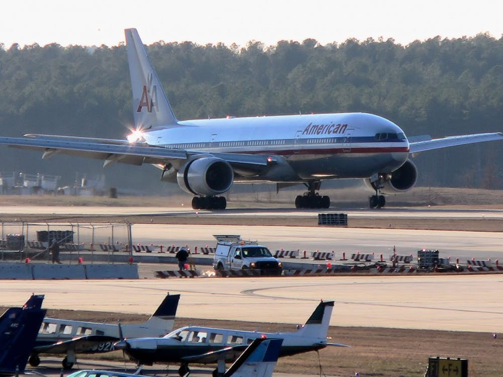 The long-term expansion plan for the Raleigh-Durham International Airport features the creation of a new runway and 23 new terminal gates.