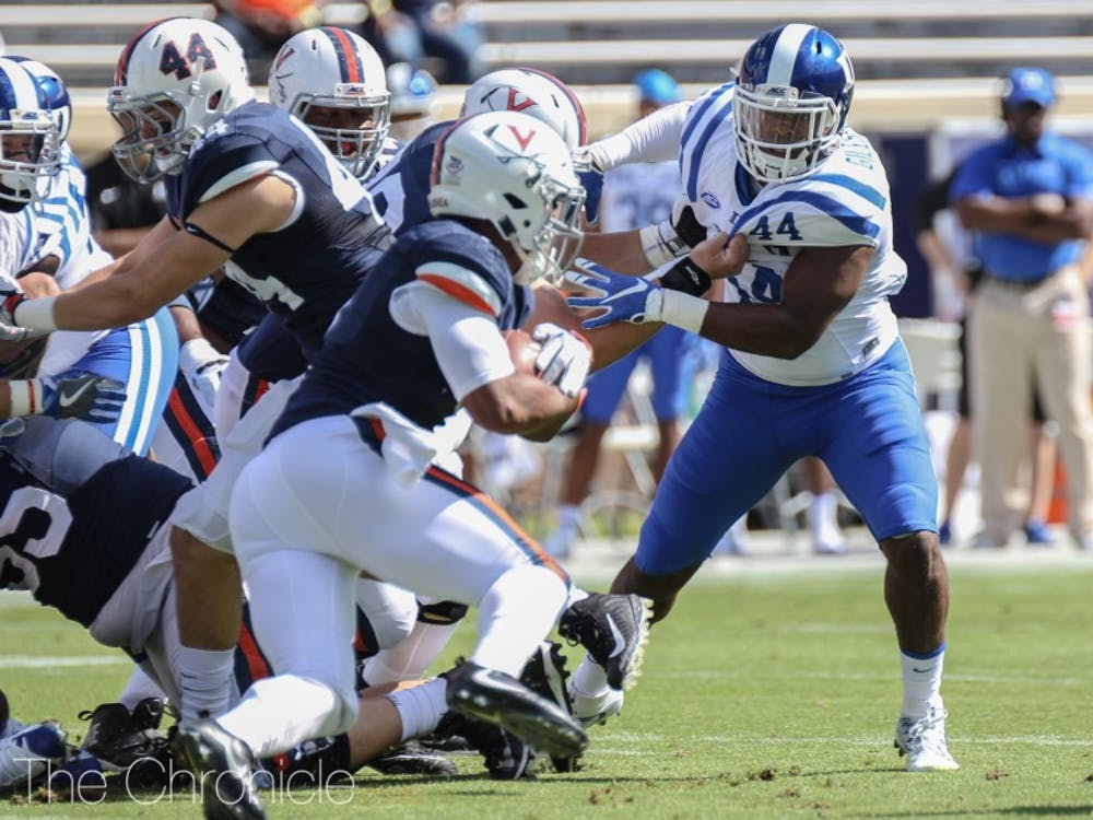 Joe Giles-Harris and Duke have a tough task ahead in stopping Army's prolific ground game.