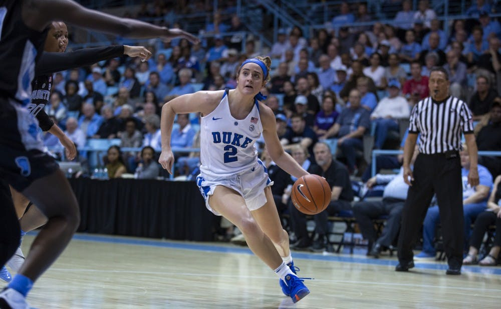 <p>Haley Gorecki continued her dominant stretch with a double-double Thursday.</p>