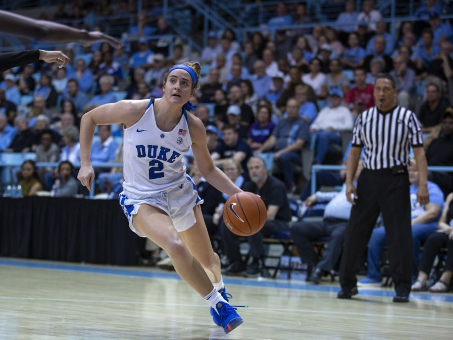 Haley Gorecki continued her dominant stretch with a double-double Thursday.